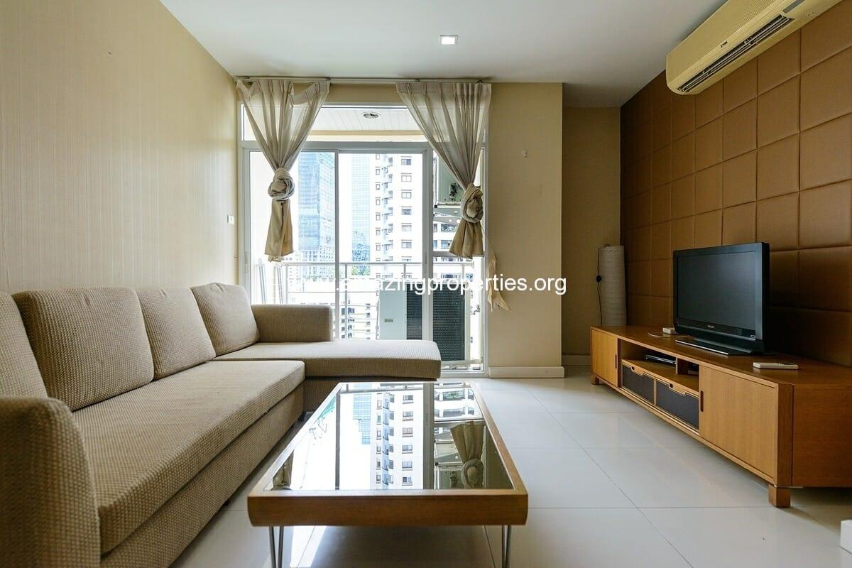 Sukhumvit city Resort 1 bedroom for Rent Nana-3