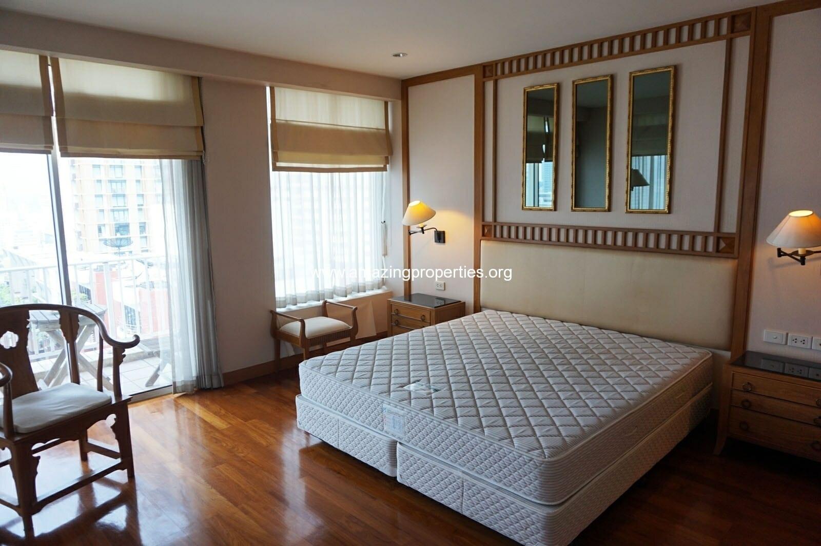 2 bedroom condo Langsuan Ville-15
