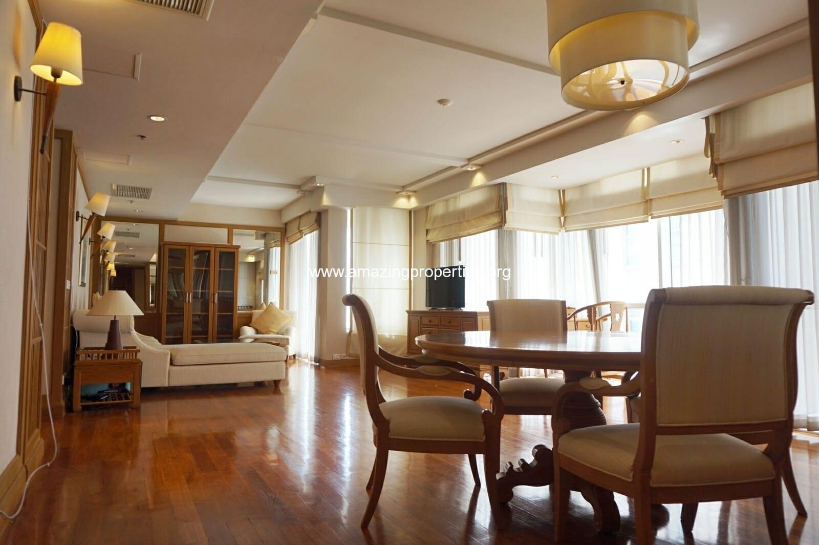 2 bedroom condo Langsuan Ville-2