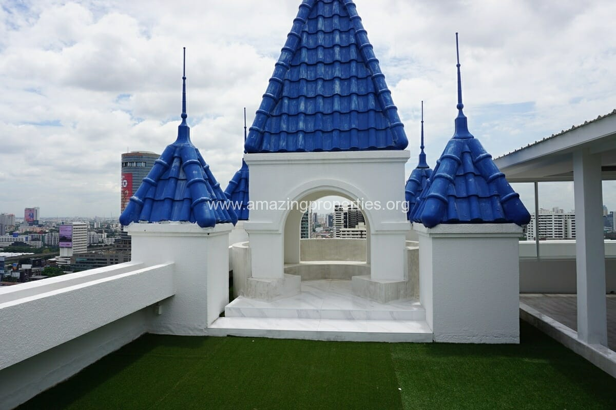Kiarthanee Mansion Penthouse for Rent-36