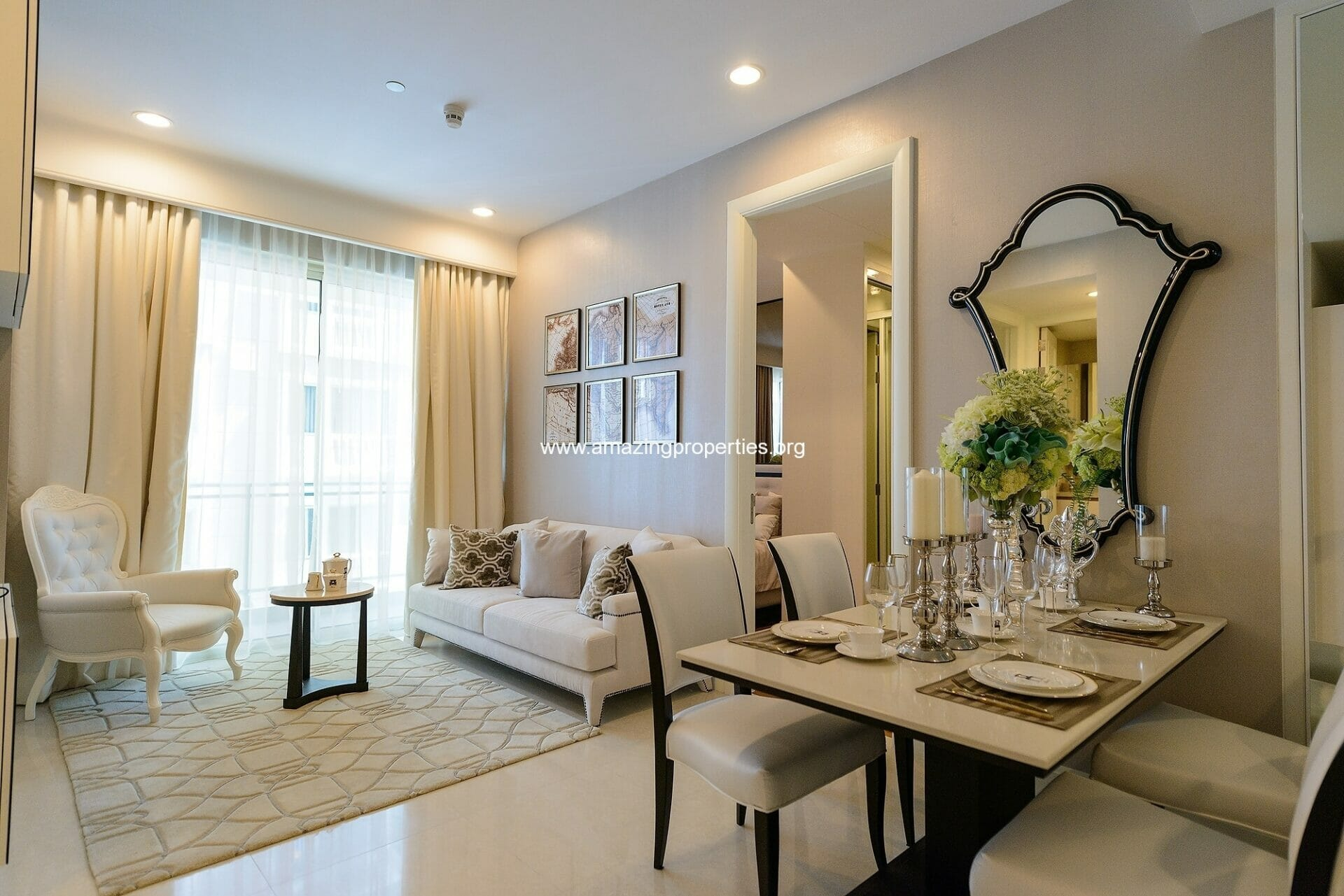 Q Langsuan Chidlom 2 Bedroom Condo for rent