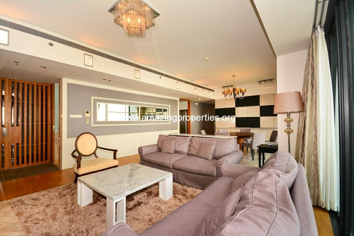 3 bedroom condo at The Met Sathorn