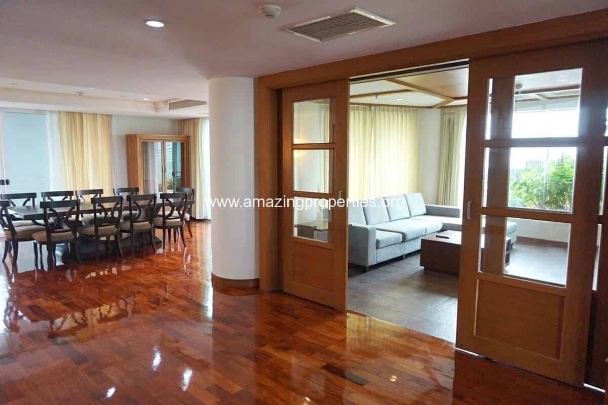Duplex 3 Bedroom Apartment for Rent at BT Residence