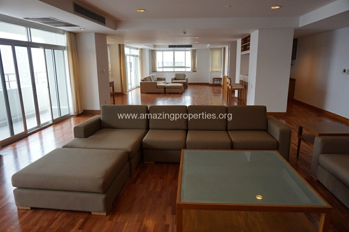 3 Bedroom Penthouse Krungthep Thani Tower-21