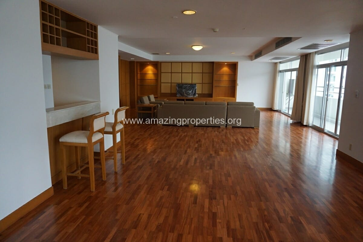 3 Bedroom Penthouse Krungthep Thani Tower-24